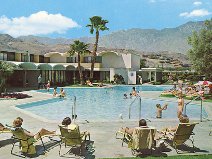 Palm Springs Pool Vintage The Coachella Valley Art Scene