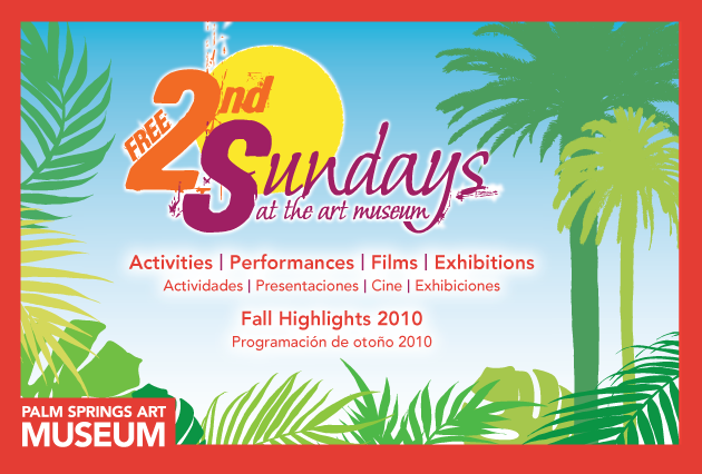 free second sundays at the palm springs art museum