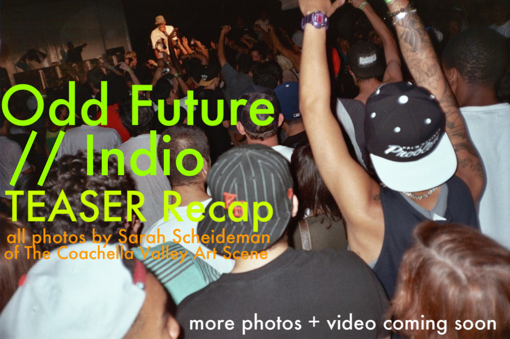 Odd Future TEASER photo recap