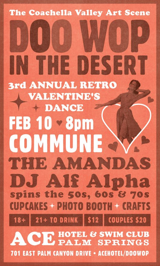 doo wop in the desert at the ace with alf alpha and the amandas