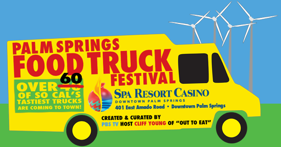 Food truck festival this saturday the coachella valley for Palm springs craft fair