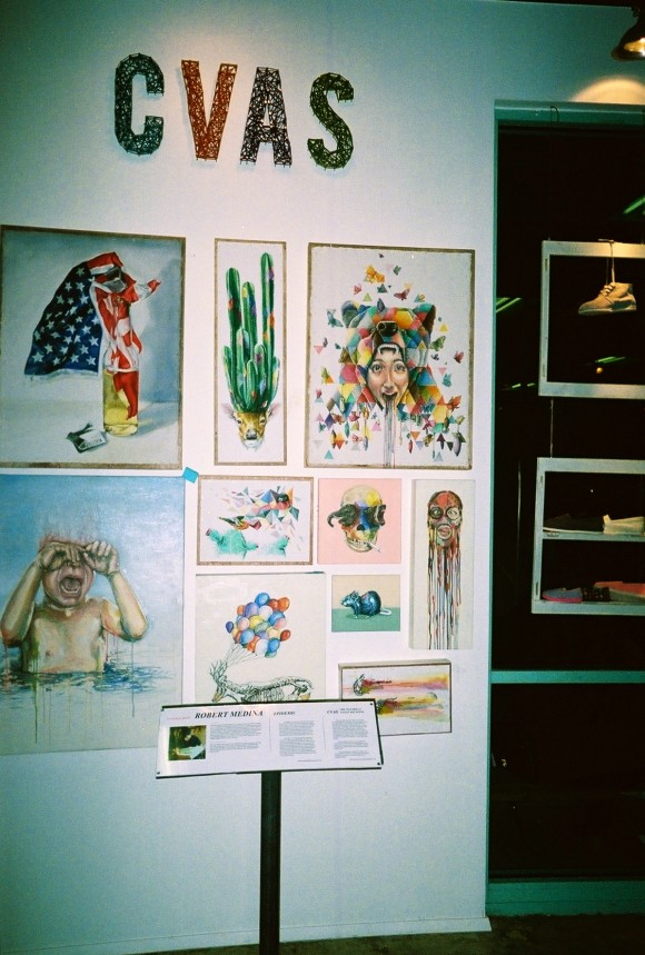 the coachella valley art scene and epidemic's CVAS Art Space, featuring Robert Medina