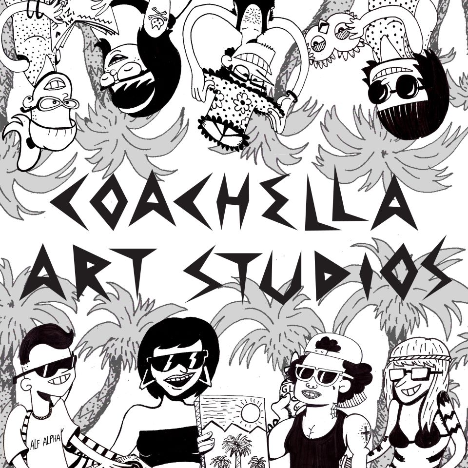 coachella art studios at the coachella valley music and art festival 2012
