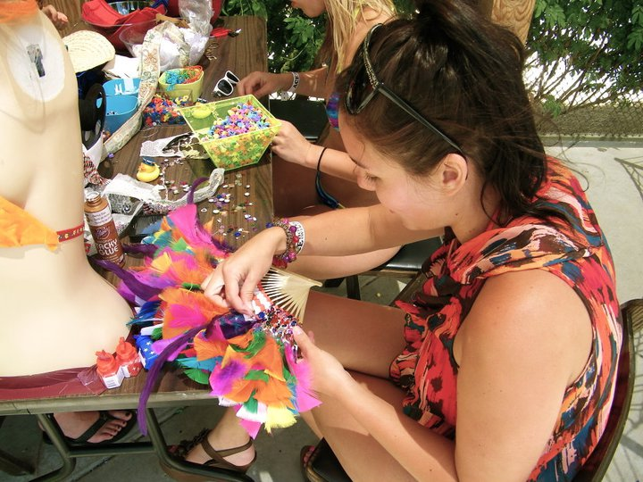 the coachella valley art scene free crafts at the ace hotel in palm springs