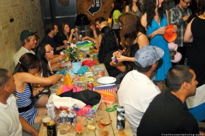 world famous party hosted by alf alpha and the coachella valley art scene at the ace hotel in palm springs