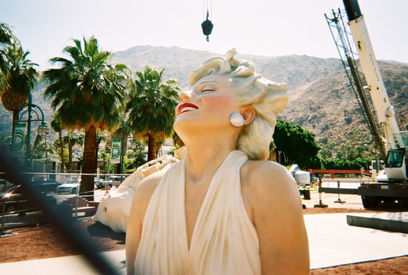 forever marilyn in palm springs by sarah scheideman