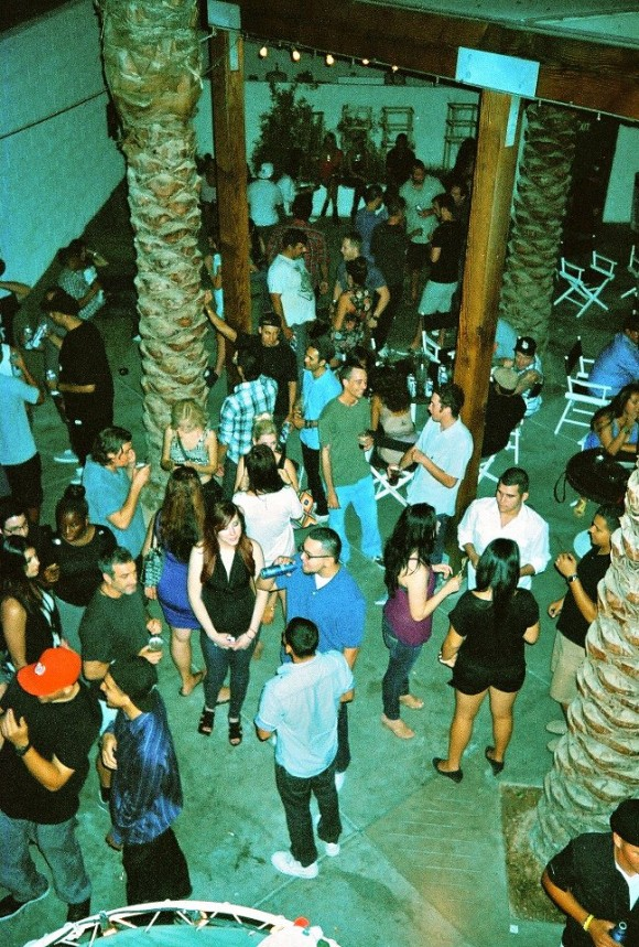 world famous dance and craft party at the ace hotel in palm springs with alf alpha and the coachella valley art scene