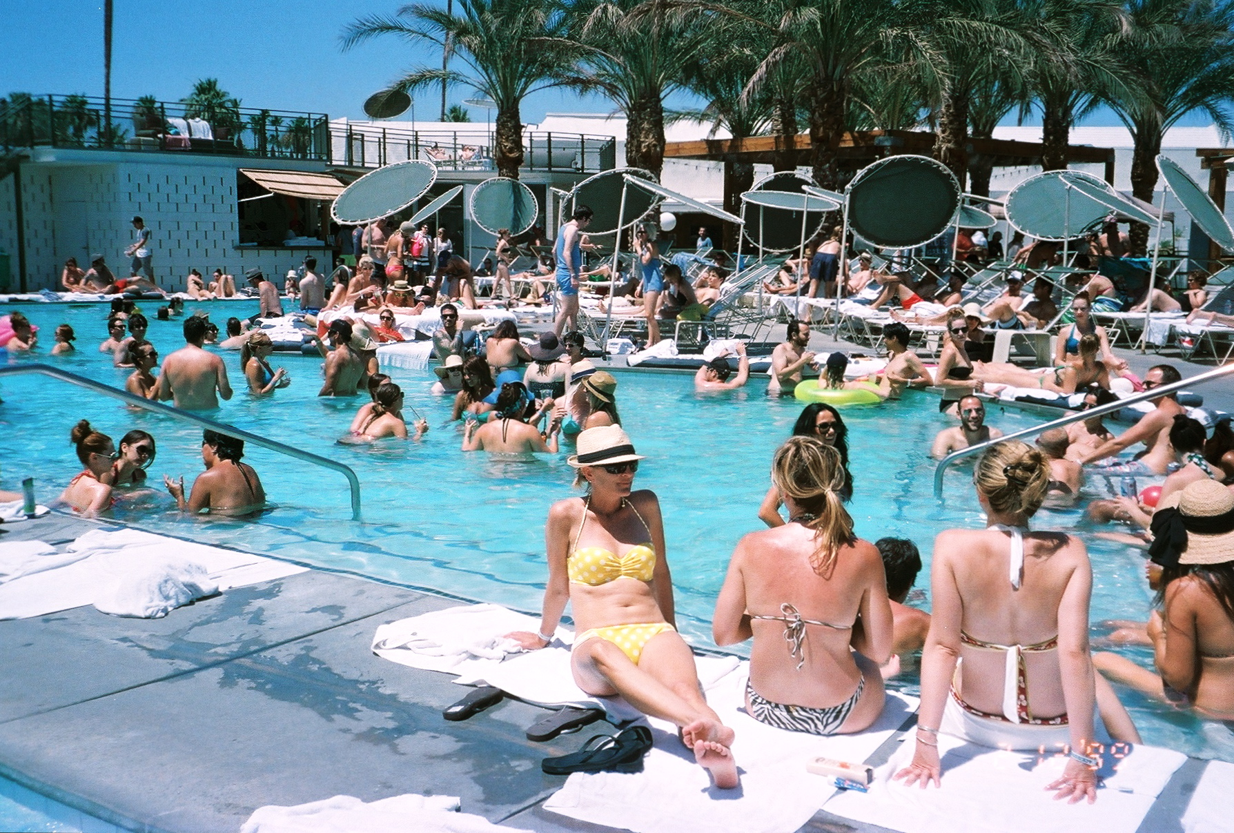 World Famous Pool Party At The Ace Hotel With Alf Alpha And Coachella Valley Art
