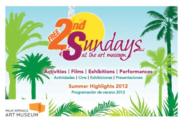 palm springs art museum, free second sundays, free entrance, art galleries in palm springs, free things to do in the summer