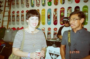 """coachella valley art show - 'there's no place like home"""" at epidemic skateboard shop"""