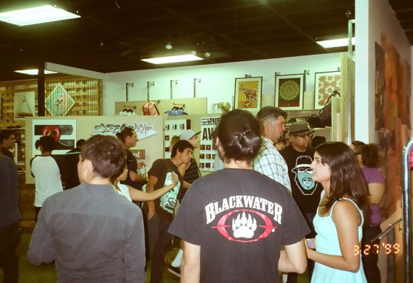 "coachella valley art show - 'there's no place like home"" at epidemic skateboard shop"
