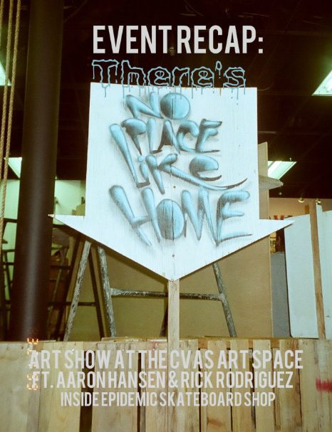 there's no place like home art show recap