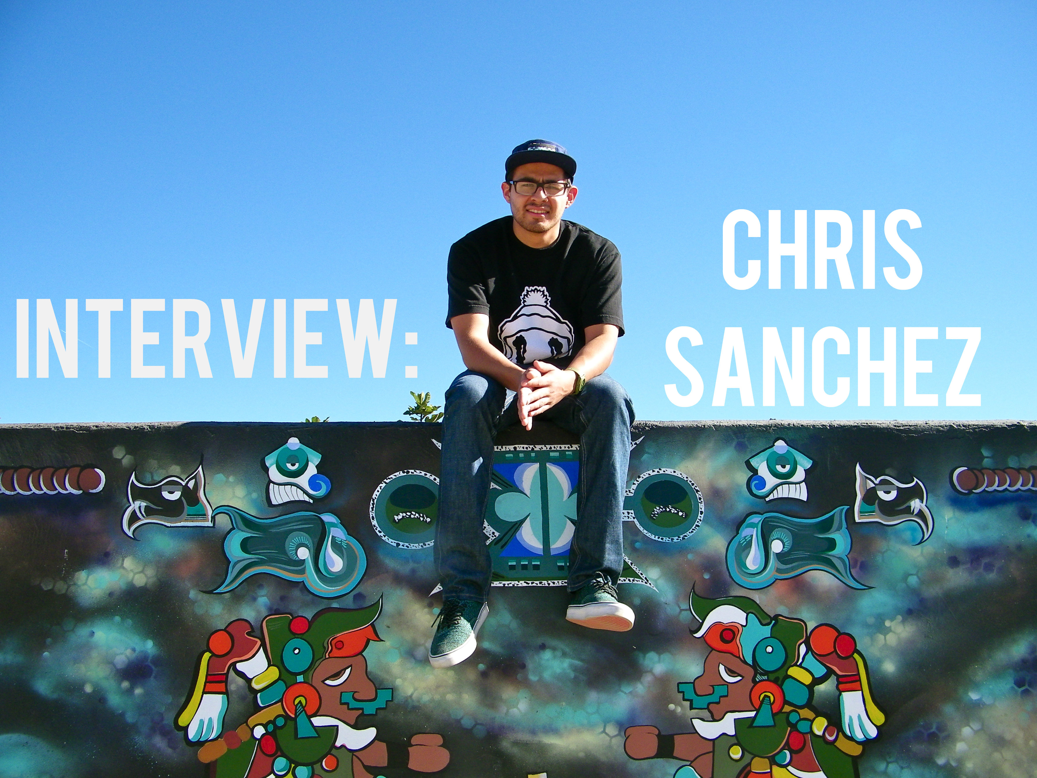 artist Chris Sanchez take by sarah Scheideman