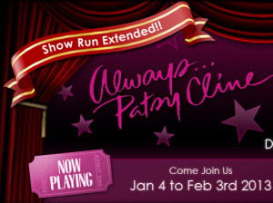 Always Patsy Cline theater