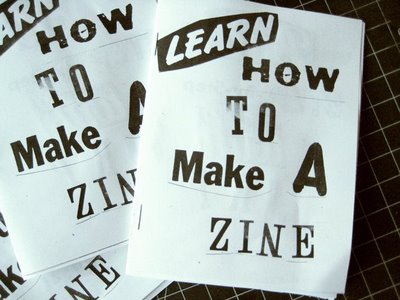zine making with dan monick