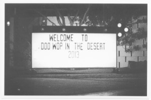 Doo Wop in the Desert at the Ace Hotel in Palm Springs, photo by David Mawby