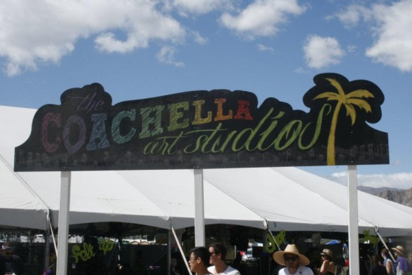 Coachella Art Studios at Coachella Valley Music and Arts Festival