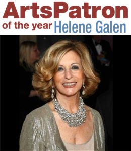 local art benefactor Helene Galen