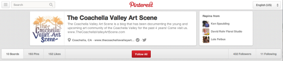 The Coachella Valley Art Scene's Pinterest