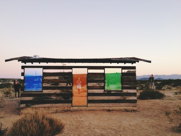 Lucid Stead by Phillip K Smith III in Joshua Tree 12