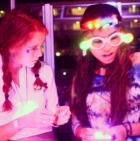 led crafts with the coachella valley art scene