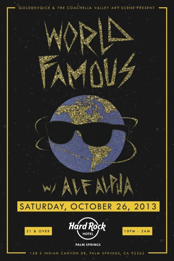 world famous party presented by goldenvoice and the coachella valley art scene at hard rock hotel in palm springs