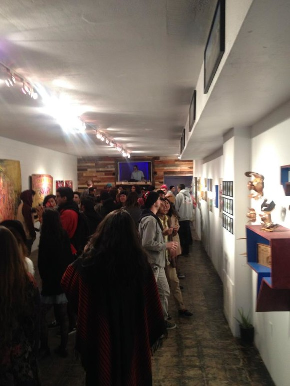 the coachella valley art scene gallery / workspace in cathedral city, ca