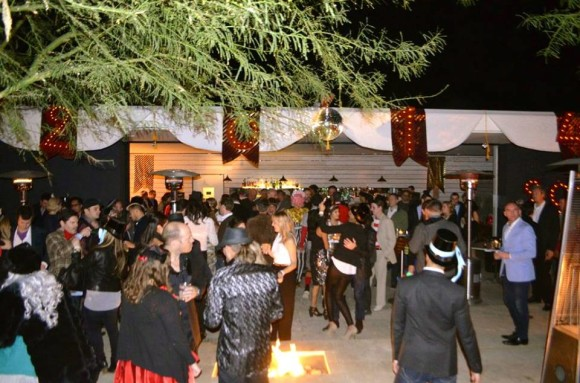 new years eve party at birba in palm springs with the coachella valley art scene and alf alpha