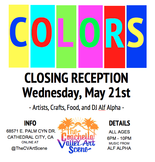 COLOR closing art reception