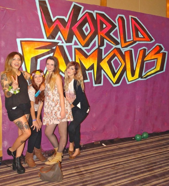 world famous party with alf alpha by golden voice and the coachella valley art scene at hard rock hotel in palm springs