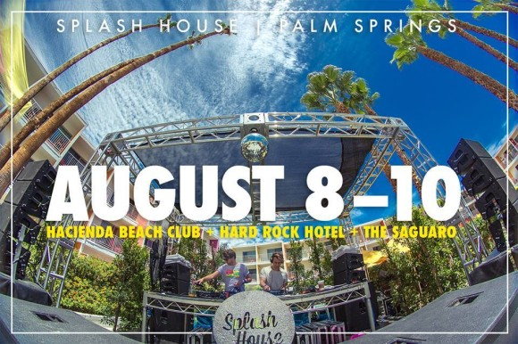 splash house pool party in palm springs