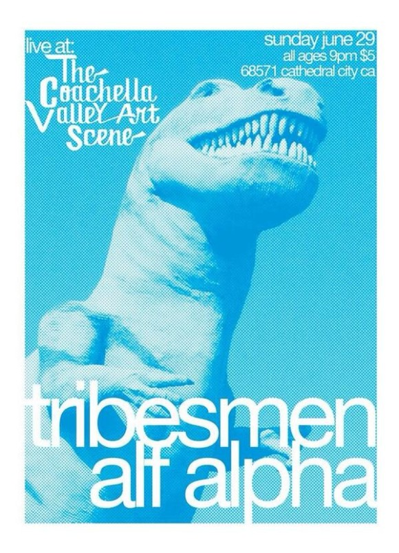 tribesmen perform live at the coachella valley art scene, all ages