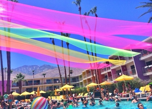 july 4th saguaro hotel palm springs with the coachella valley art scene
