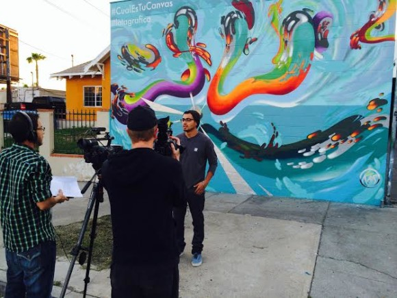 Chris Sanchez for Red Bull Latagrafica mural