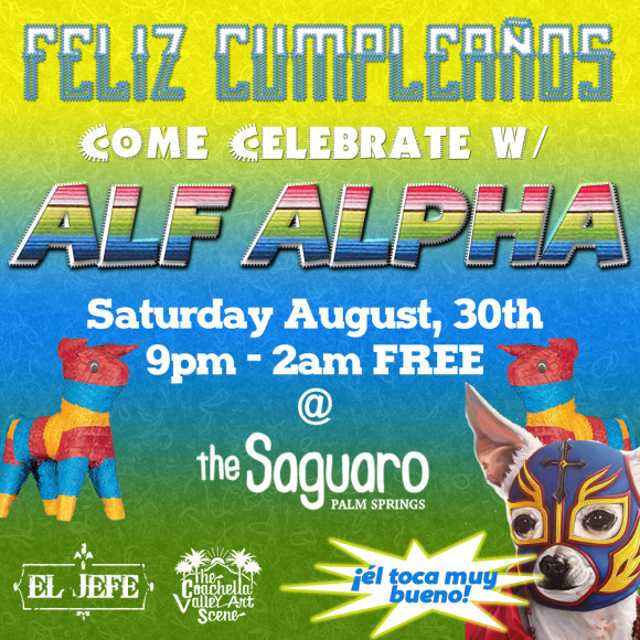 Alf Alpha at Saguro Birhday Fiesta