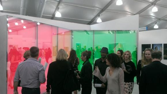 phillip k smith III at art basel miami