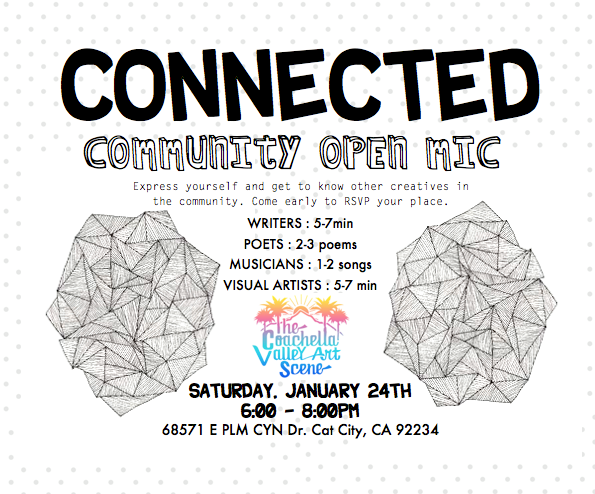 connected - community open mic