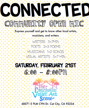 connected community open mic