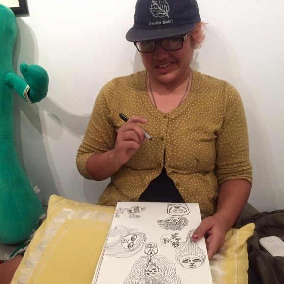 Draw Night at The CVAS with Sofia Enriquez