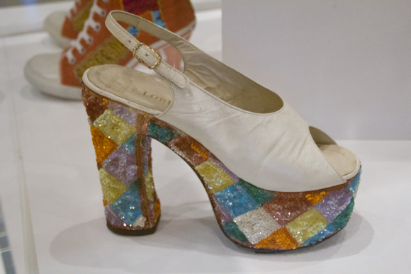 Killer Heels exhibit at Palm Springs Art Museum photo by Arslane Merabet 2