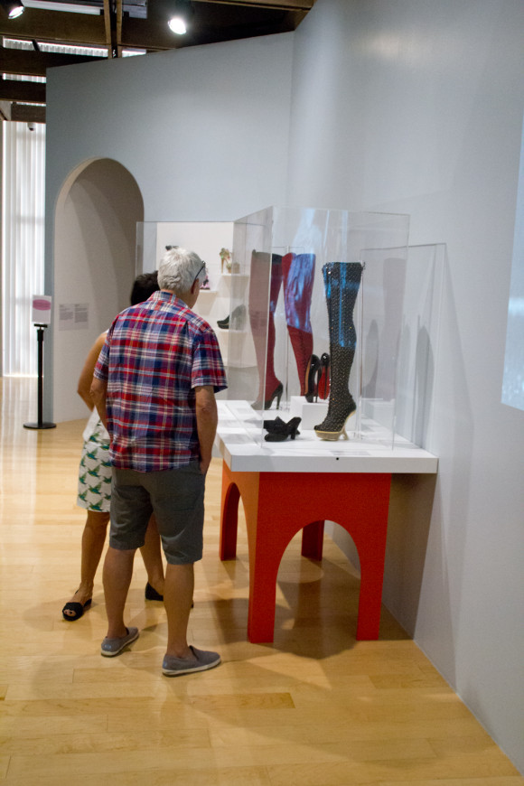 Killer Heels exhibit at Palm Springs Art Museum photo by Arslane Merabet 5