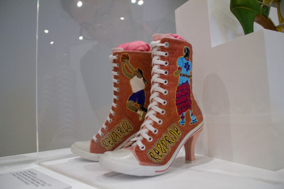 Killer Heels exhibit at Palm Springs Art Museum photo by Arslane Merabet