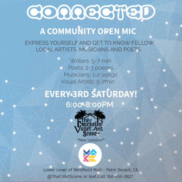 Connected - a community open mic
