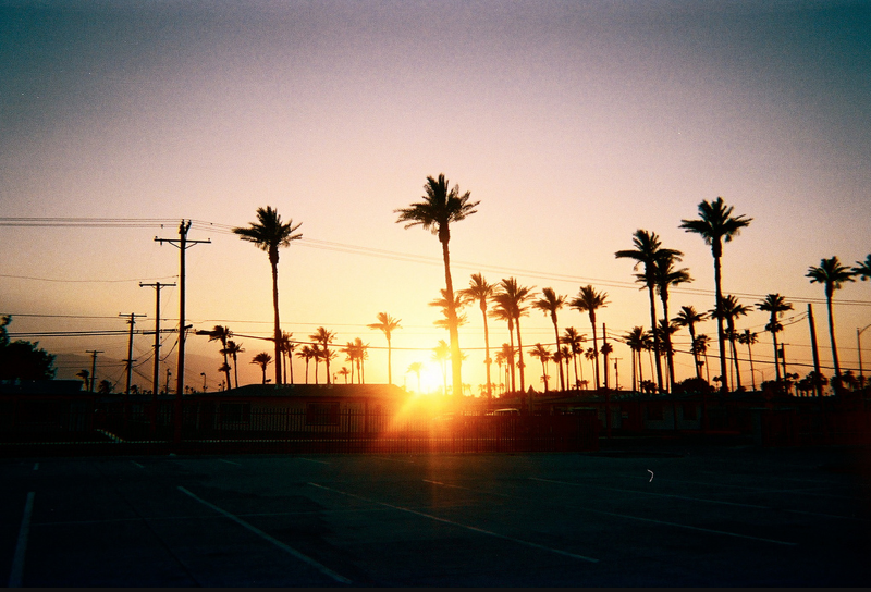 Indio at Sunset - photo by Sarah Scheideman