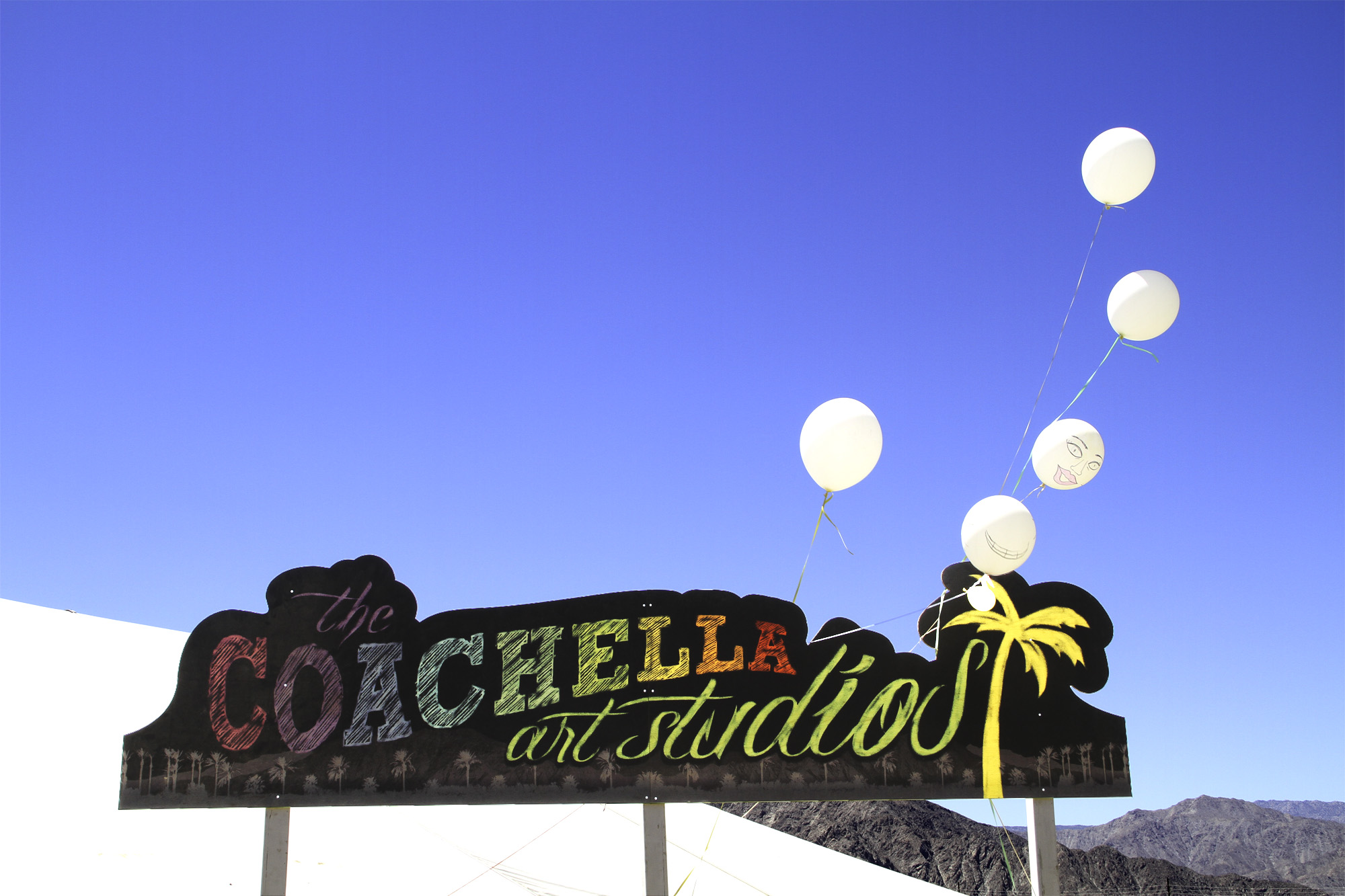 Coachella Art Studios at teh Coachella Valley Music and Arts Festival