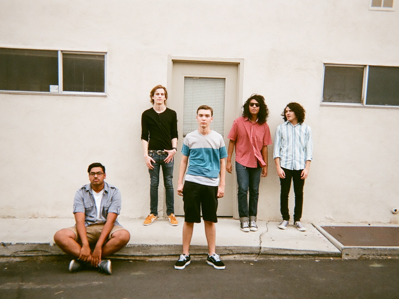 In Viridian band from Palm Springs, photographed by Sarah Scheideman