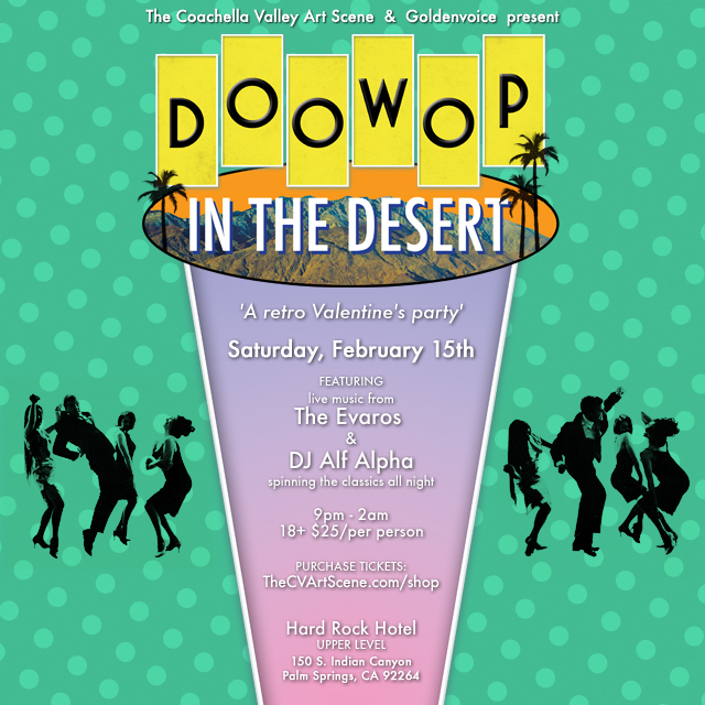 doo wop in the desert in palm springs for modernsim week in palm springs