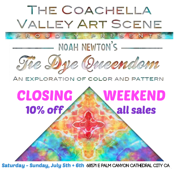 tie dye queendom closing show